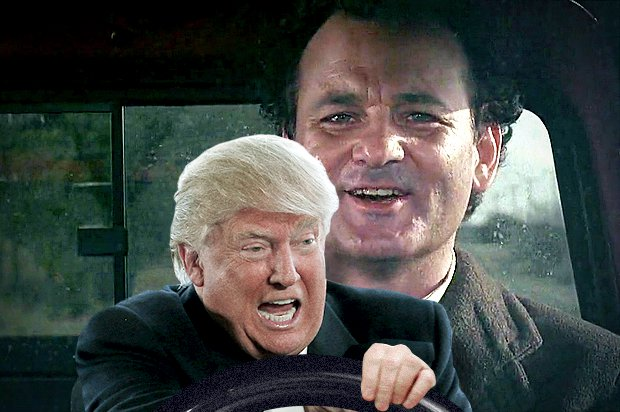Trump's shutdown meets Punxsutawney Phil.